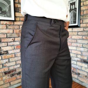 NEW Alfani Wool Dress Pants Dark Taupe NWT